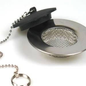 Filtrage d'Evier Lavabo Filtre + Bouchon: Cuisine & Maison