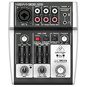 de mixage 5 entrées avec port USB: Instruments de musique