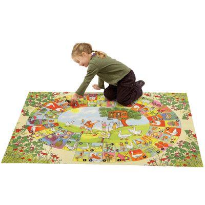 Tapis de jeu «le jeu de l'oie» 100x150cm Achat / Vente jeu société