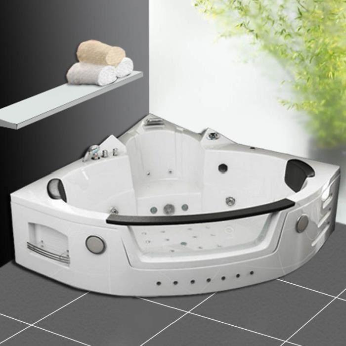 baignoire kit balneo Baignoire balnéo d'angle 2 Soldes* d?été