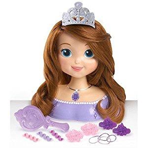 Disney Princesse Sofia Tête à Coiffer 20 cm et Accessoires