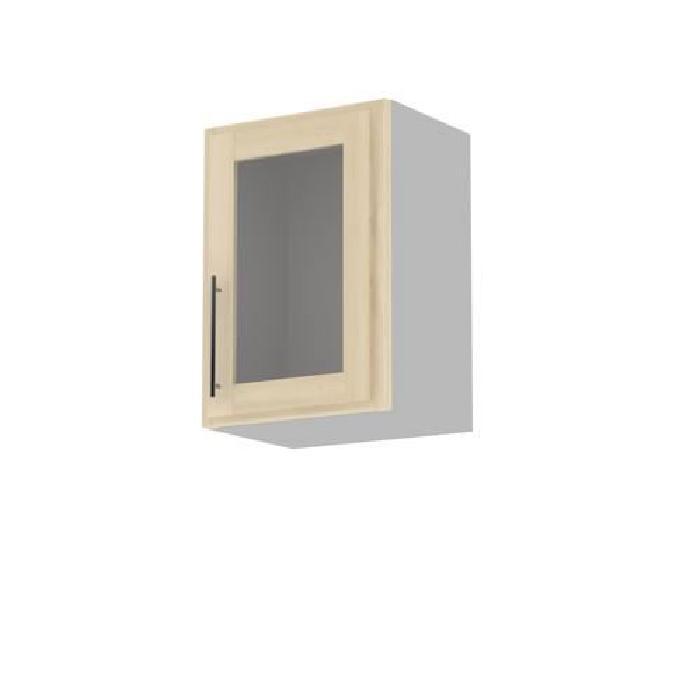 Meuble cuisine mural 50cm 1 porte vitree 50×71.? Achat / Vente