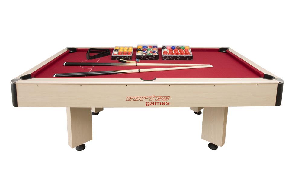 Cortes Games Table de billard 3 en 1 Arlequin et Plateau Dînatoire