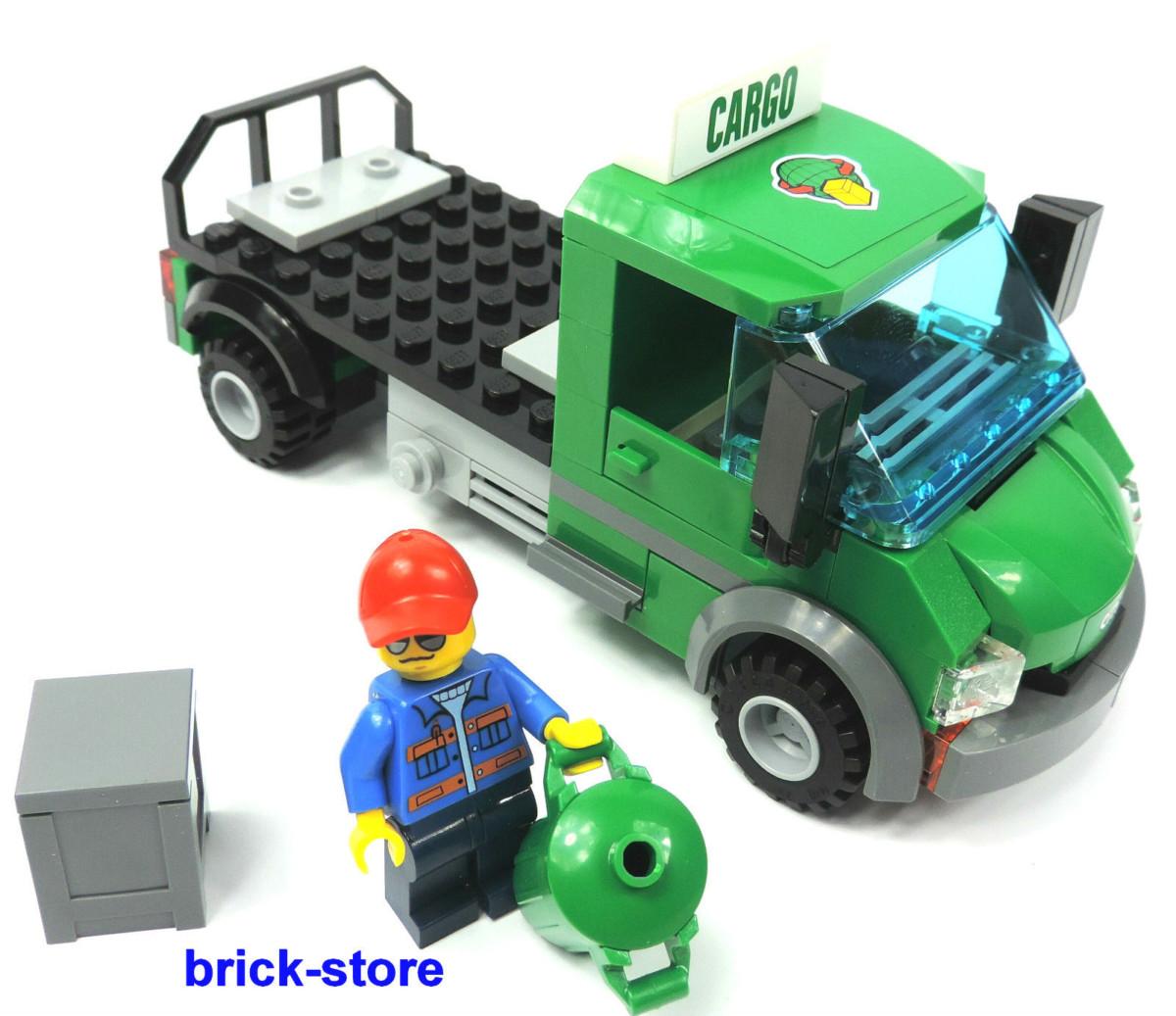 LEGO City/ Chemin de fer (60052) CARGO LKW avec accessoires