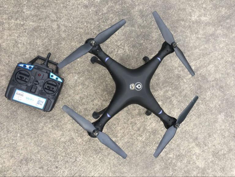 Drone Professionnel Longue Distance Caméra HD GPS Retour Attérissage