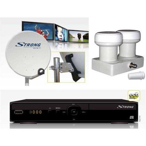 Kit de réception satellite numérique STRONG modèle SRT KSF02