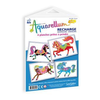 Recharge Aquarellum Junior Chevaux Peinture Acheter sur
