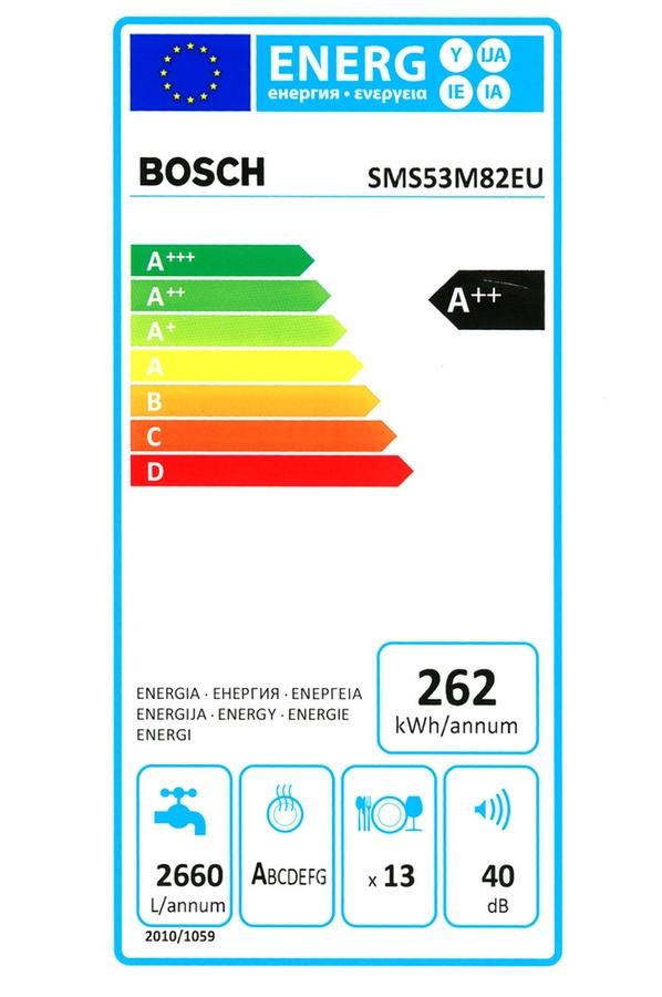 Lave vaisselle Bosch SMS53M82EU BLANC (4052315) |