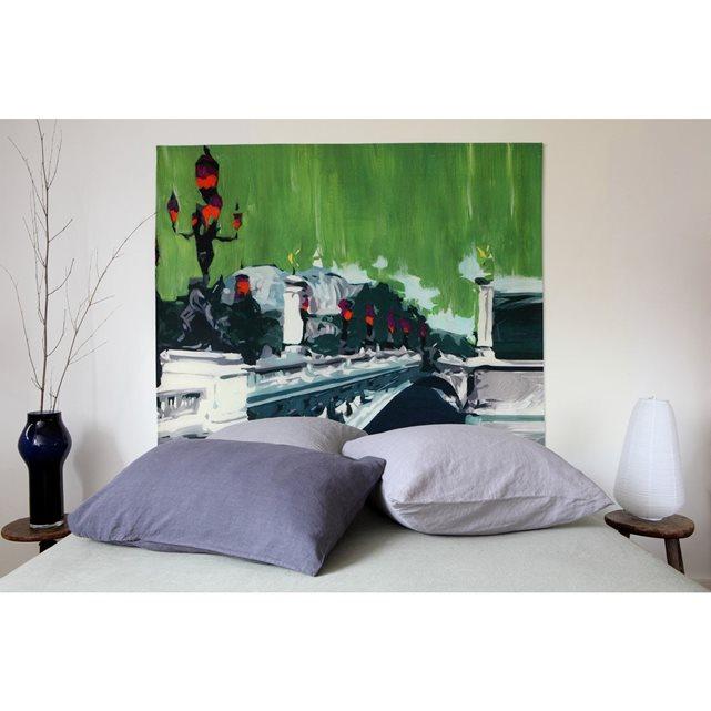 MADEMOISELLE TISS Tête de lit en tissu Alexandre III à fixer au