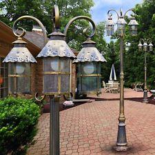Borne d'éclairage Lampadaire de jardin Lampe sur pied Lampe d