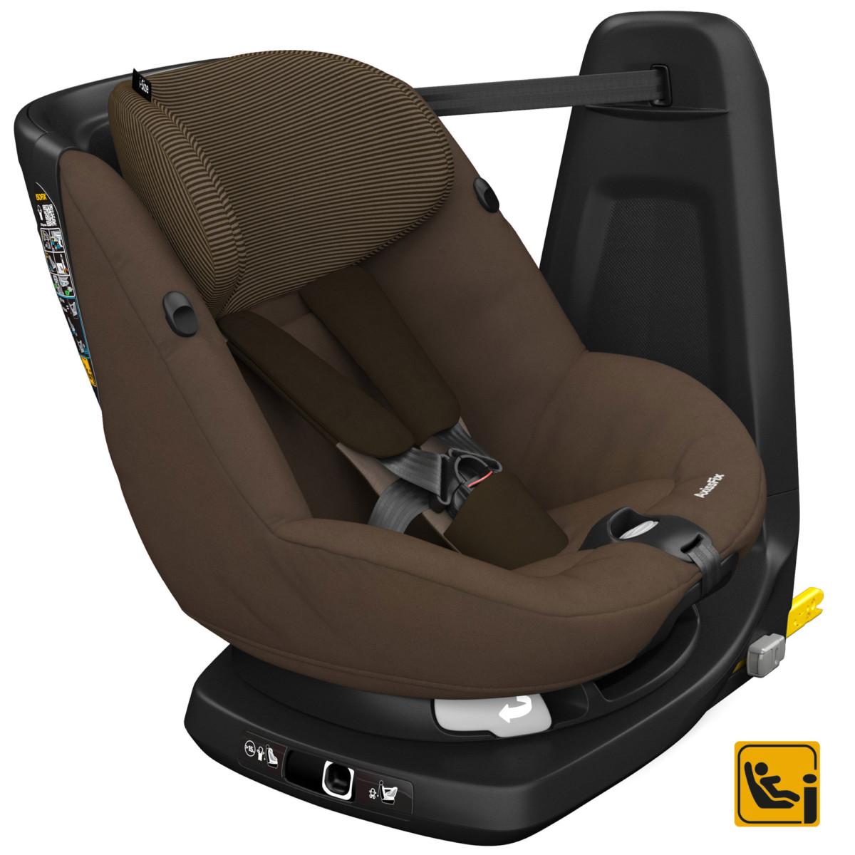 AxissFix Earth Brown de Bébé Confort, Siège auto Groupe 0+/1 (