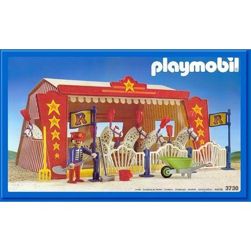 Playmobil Vintage 3730 Cirque Romani : Tente et Chevaux Playmobil