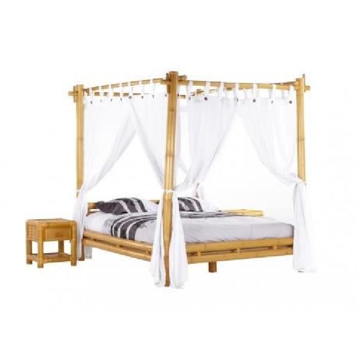 Bambou Achat / Vente structure de lit Lit à baldaquin MALINDI ave