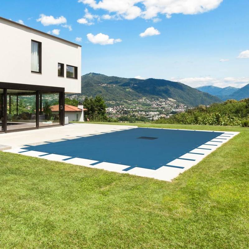 Bâche piscine rectangulaire 8×14 m