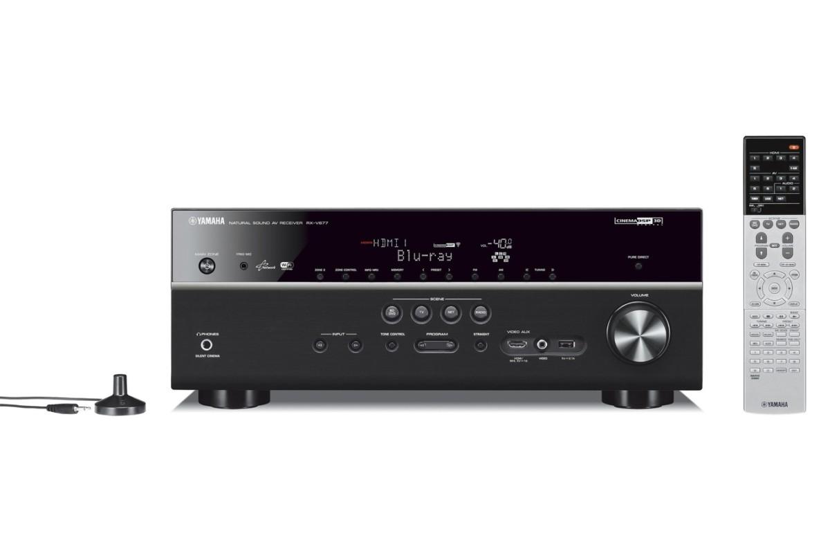Pack Ampli Home Cinéma Yamaha RXV677 B+PACK 836VW (5023530)