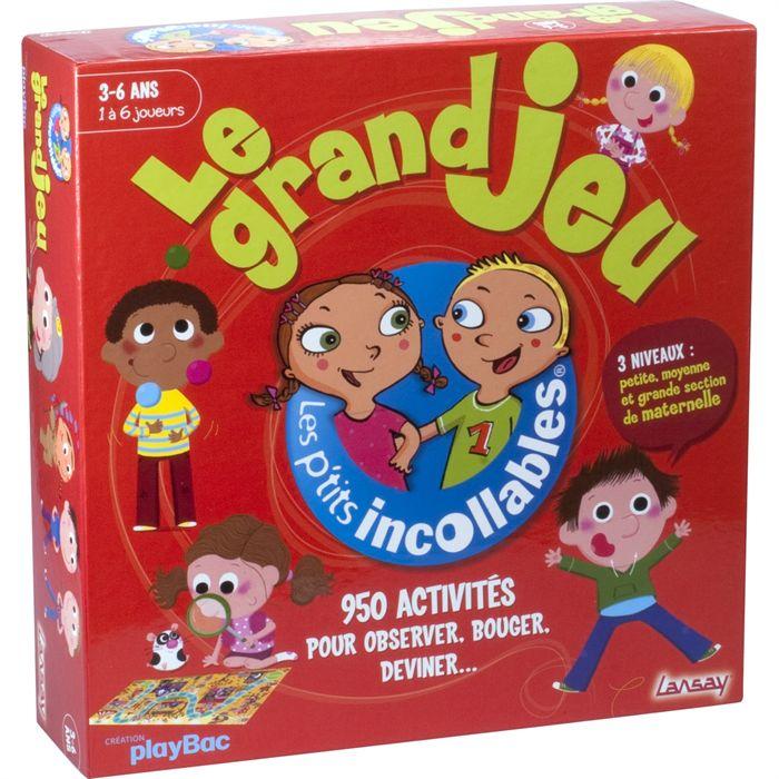 JEU SOCIÉTÉ PLATEAU Lansay Les Petits Incollables, Le Grand Jeuu