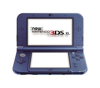 Console New 3DS XL Nintendo New 3DS XL Bleu Métallique