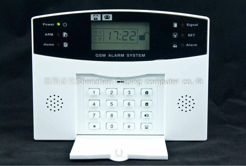 KIT Alarme Maison Sans FIL GSM SMS Auto Appel Anti VOL 1 99 Zones DE