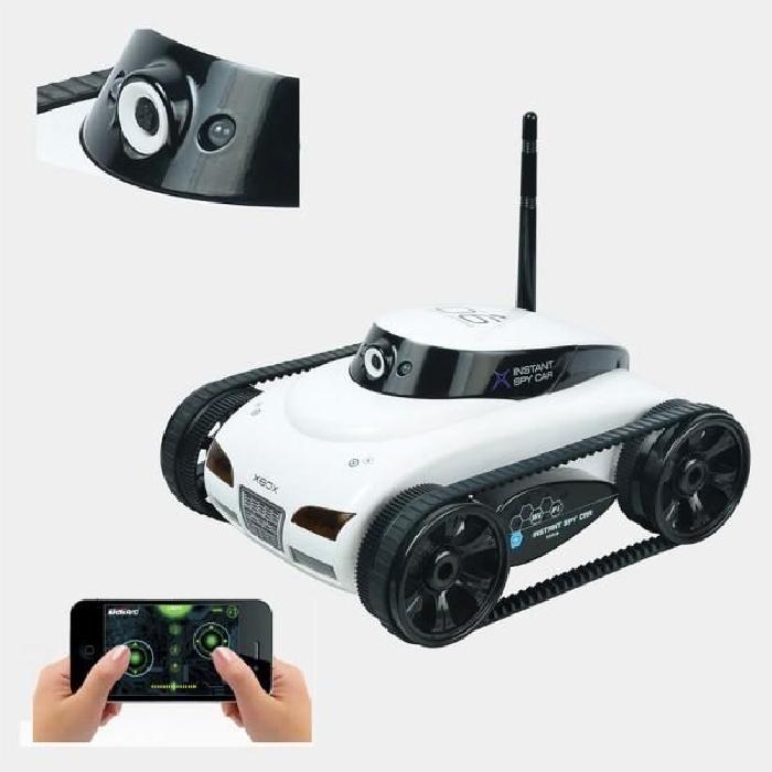 rc tank caméra wifi télécommandé avec iphone Achat / Vente jeu