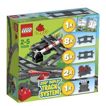 LEGO® DUPLO® Ville 10506 Ensemble d'éléments pour le train Lego
