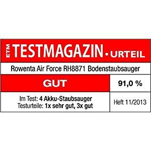 Rowenta RH887101 Aspirateur Balai Air Force Extrême Lithium Bleu