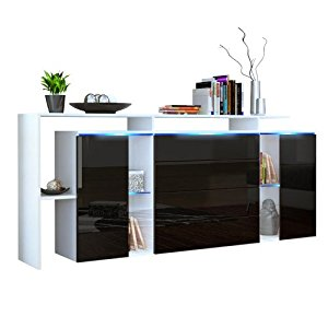 commode blanc laque topiwall. Black Bedroom Furniture Sets. Home Design Ideas