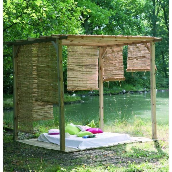fabriquer une tonnelle en bois fabulous une fois la pergola monte a donne a reste donc passer. Black Bedroom Furniture Sets. Home Design Ideas