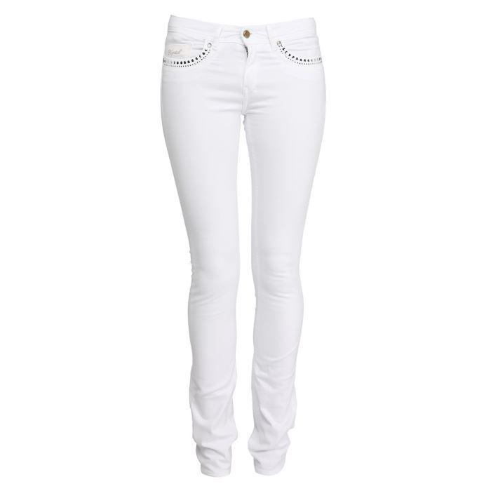 Jean Dess Slim Femme Blanc Achat / Vente jeans KAPORAL 5 Jean Femme