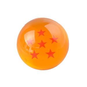 Dragon Ball Z Boule De Cristal Six Etoiles Jaune 7 5cm G00523