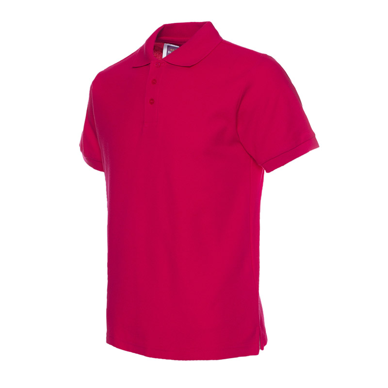 Polo Homme Revers Cotton Loisir Couleur Unie D'affaires