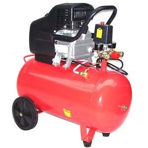 Compresseur d'air électrique 50L RESERVOIR 8 BAR 2CV 50 litres 1500