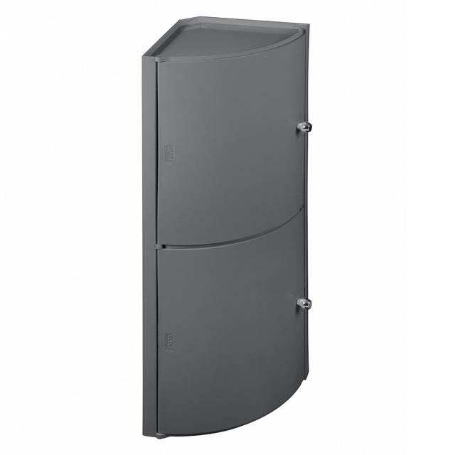 Armoire toilette angle topiwall for Placard mural d angle