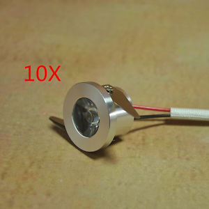 1W LED Spot Lampe Mini spot Downlight spot encastré Mini Blanc Chaud