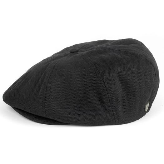 Casquettes homme Brixton Brood Black Herringbone Brixton Brood Black