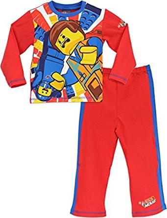 Lego Movie Pyjama | Garcon Lego Movie Ensemble de Pyjama| 6 7 Ans