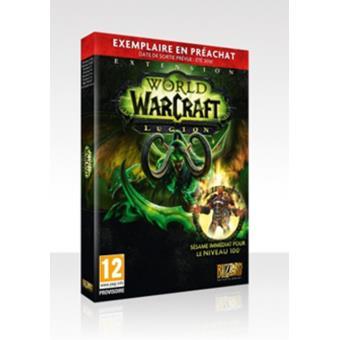 World of Warcraft Legion PC sur PC Jeux vidéo Achat & prix | fnac