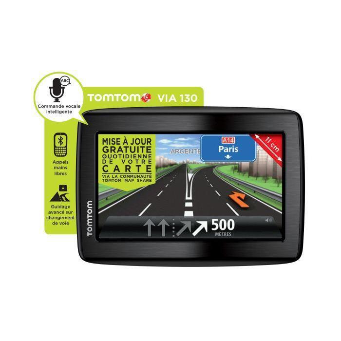 GPS TomTom Via 130 Europe 45 Achat / Vente gps auto GPS TomTom Via