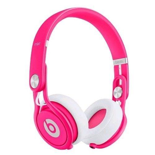 Beats Mixr Limited Edition casque pleine taille rose néon
