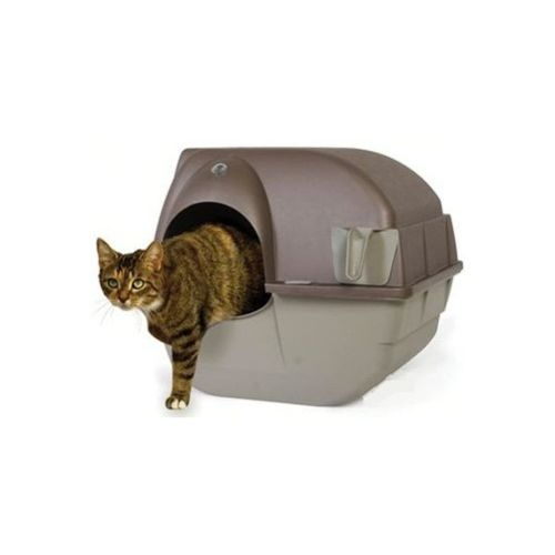 Demavic Maison de toilette chat auto nettoyante Grand modèle