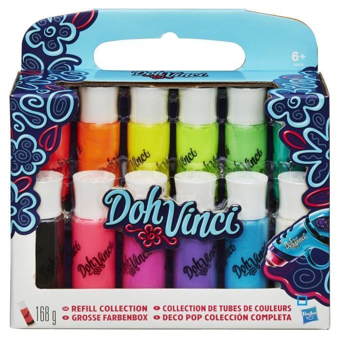 DOH VINCI Palette de 12 couleurs Achat / Vente support à décorer