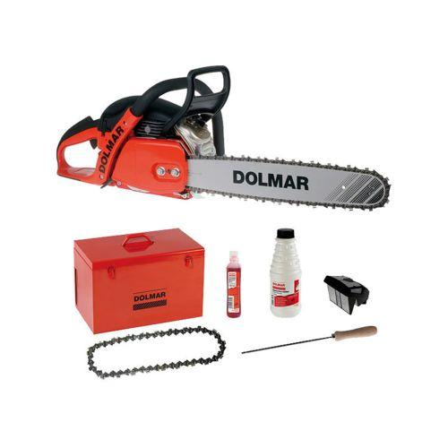 Dolmar Tronçonneuse thermique 50cm3 45cm EASYSTART + Accessoires