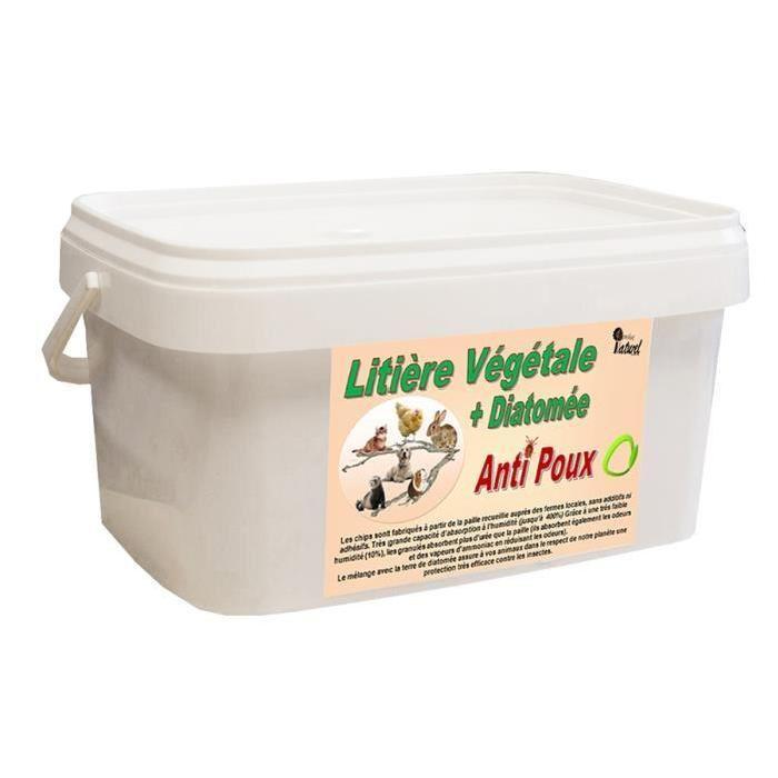 Litière poulailler anti poux 5 kg super absorbante Achat / Vente
