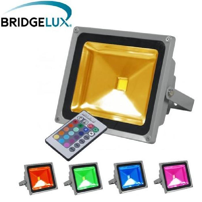 Projecteur LED extérieur 30W RGB Multicolore Projecteur LED