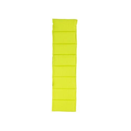 Hespéride Coussin pour bain de soleil 190 x 55 cm Vert Anis pas