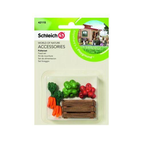 Schleich Set de nourriture 42115 pas cher Achat / Vente Animaux