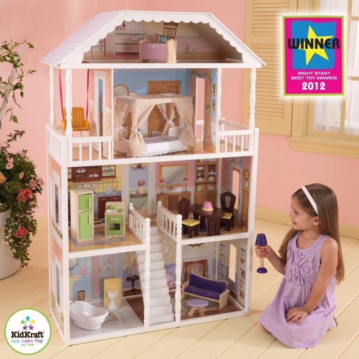KidKraft Maison de poupées Savannah + 14 acc. Achat / Vente maison