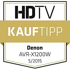 Denon AVRX1200WBKE2 récepteur AV surround 7.1 (Dolby Atmos, .dtsx