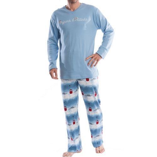 pyjama chaud arthur : tee shirt ? BLEU Achat / Vente pyjama