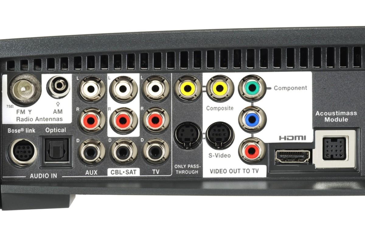 Home cinéma tout en un Bose 3.2.1 GS Série III NOIR 321GS (2780623