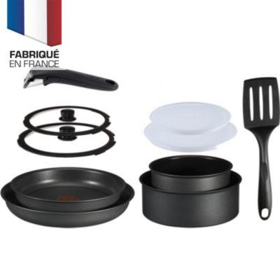 Batterie de cuisine Tefal Ingenio 5 PERFORMANCE noir 10p INDUC